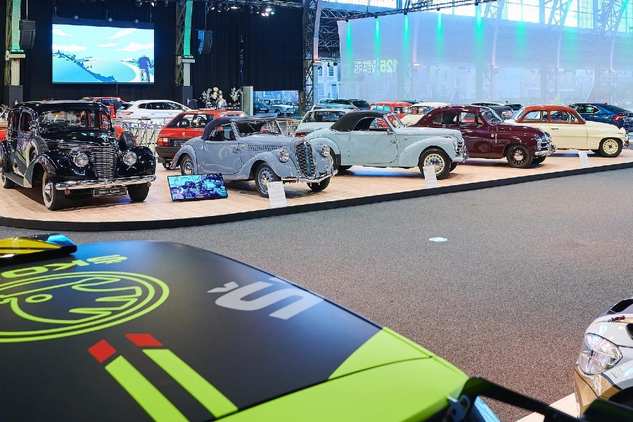 SKODA – 125th ANNIVERSARY IN AUTOWOLRD BRUSSELS