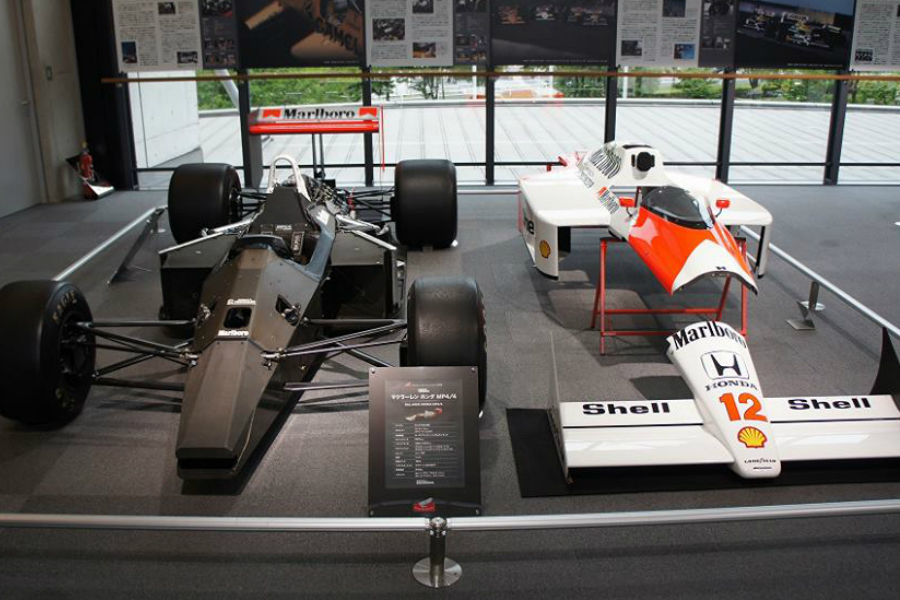 honda collection hall - McLaren Honda MP4/4