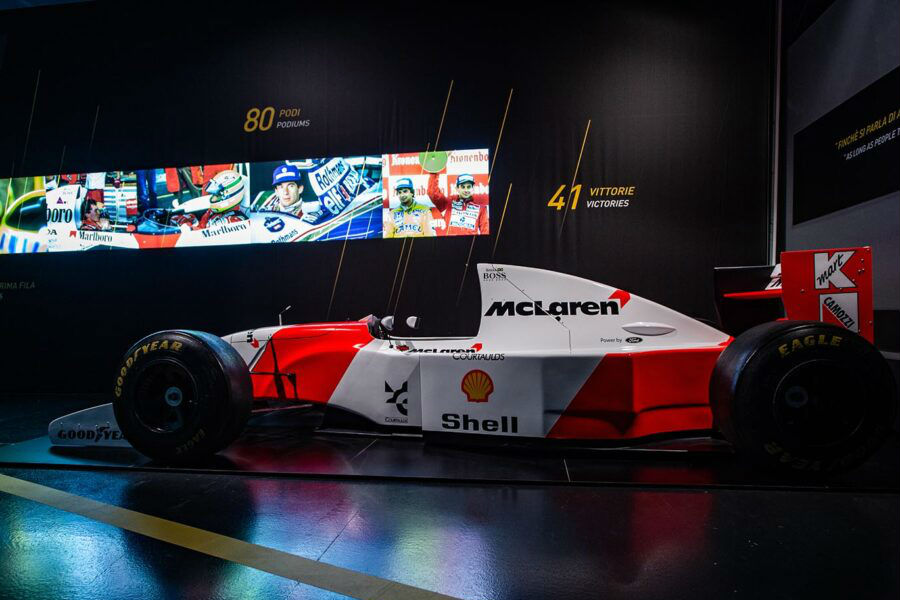 AUTOMOTIVE MUSEUMS AND THE AYRTON SENNA EXHIBITION.