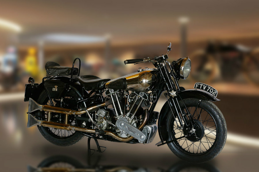 BROUGH SUPERIOR SS 100 - TOP MOUNTAIN MUSEUM